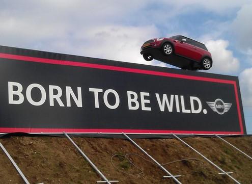 Born to be wild - Bedrijfsnamenbord