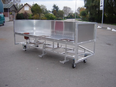 Oppottafel - aluminium
