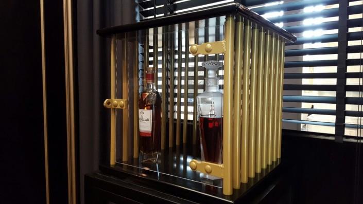 Kluis met glazen deur - Boozed