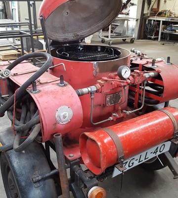 Spuitwagen brandweer - BBQ