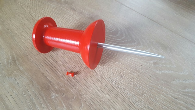 3D printen - productvergroting Punaise