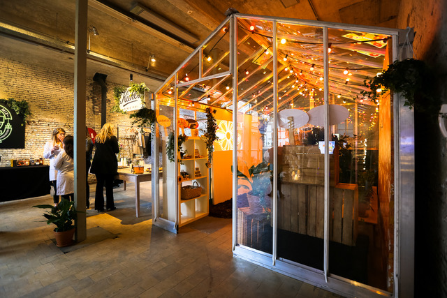 Presentatie Kiehl's - Antwerpen - Pop-up kas - Playground