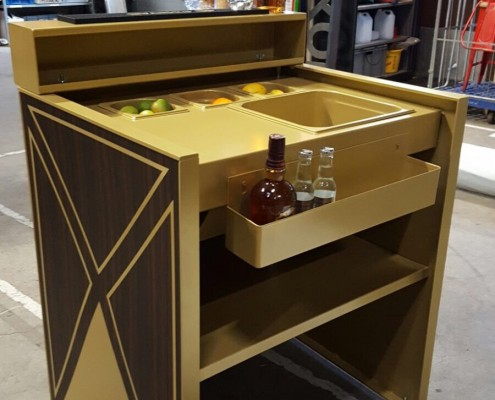Mobiele bar, trolley - Chivas - Boozed