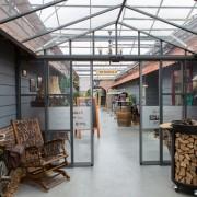 Buitelaar Metaal - Glazen corridor - de Tuinderij