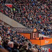 Pop up kas - Johan Cruijff Arena tijdens voetbalklassieker - Kumpany