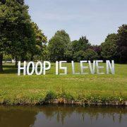 Buitelaar Metaal - Letters Hoop is leven - Samenloop voor hoop KWF
