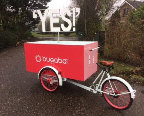 Promotie bakfiets - Bugaboo - Kumpany