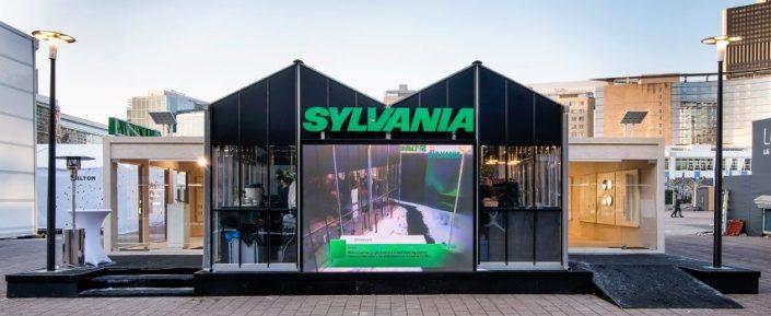 Sylvania - Wit Design - Pop-up kasverhuur