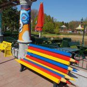 Buitelaar Metaal - Kleurpotlodenbank - tuinmeubilair - Props