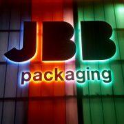 Buitelaar Metaal - Gevelreclame - Letters XXL - JBB Packaging
