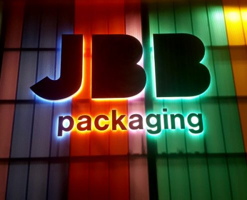 Gevelreclame - Letters XL - JBB Packaging