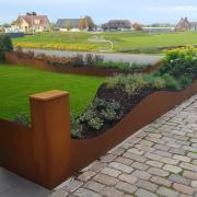 Buitelaar Metaal - Cortenstalen elementen tuin - Aspar