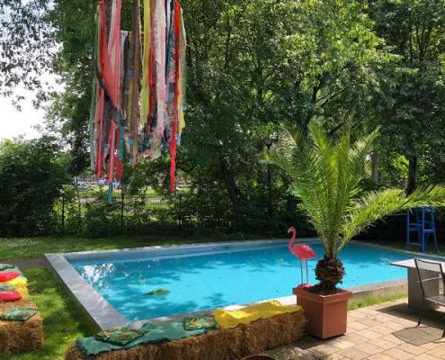 Tijdelijk pop up zwembad - Buitelaar Metaal