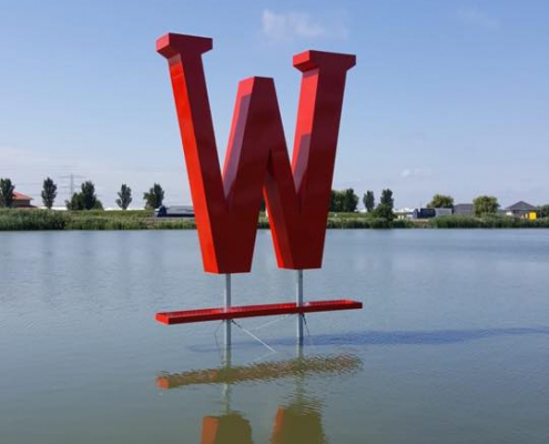 Reclame letter - Doosletter - Logo - Wollebrand