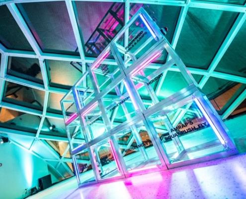 Activation wall inclusief LED verlichting - McSaatchi