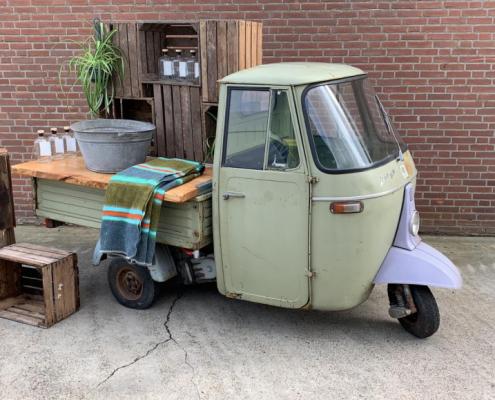 Buitelaar Verhuurt - Rollend voertuig Piaggio groen