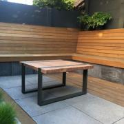 Buitelaar Metaal - Buitentafel uit hout en metaal