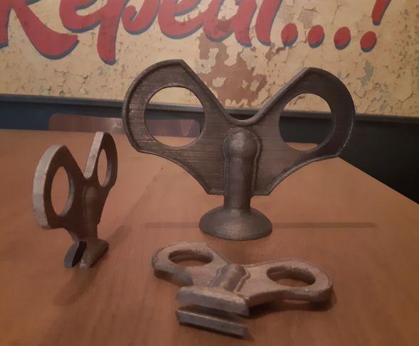 3D Printer sleutel film Klaus