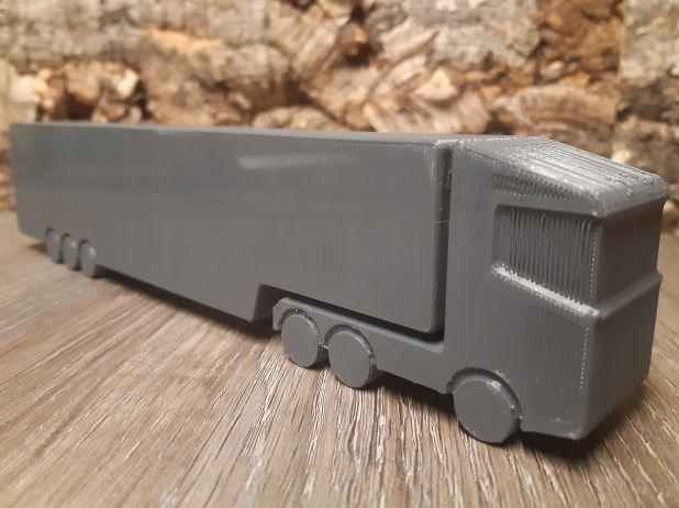 3D printer Truck vrachtwagen