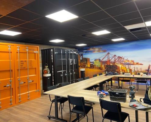 Buitelaar Metaal - Zeecontainer in interieur - 20FT