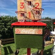 Buitelaar Metaal - Festival game Basketbal recycling - Boozed