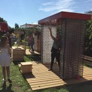 Buitelaar Metaal - Festival game stokvangen recycling - Boozed