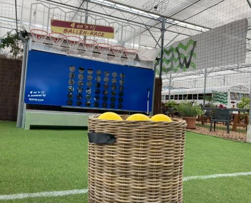 Vier op een rij - Festival spel - outdoor - de Tuinderij