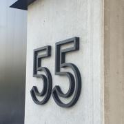 Buitelaar Metaal - Huisnummer - metalen cijfers