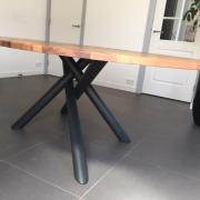 Buitelaar Metaal - Stalen onderstel ovale eettafel