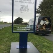 Support van schoon - Mobiele abri - vande.club