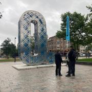 City dressing - Letter O - uitvergroting letter - Operadagen Rotterdam